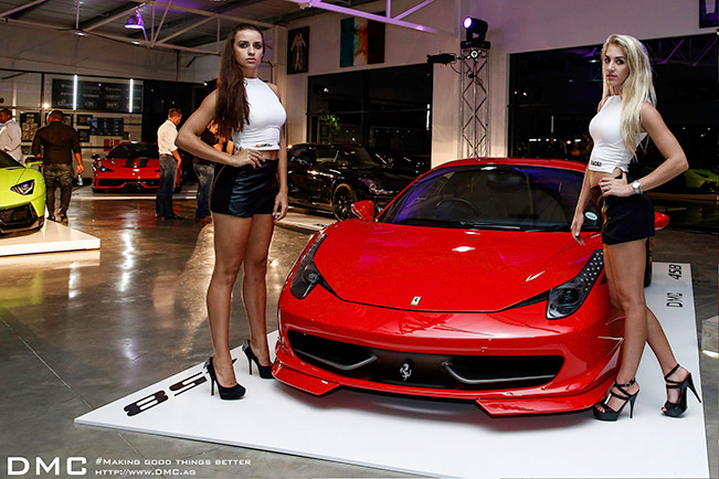 DMC Ferrari 458 Elegante Package 2015 Front DMC Ferrari 458 Elegante Package in South Africa