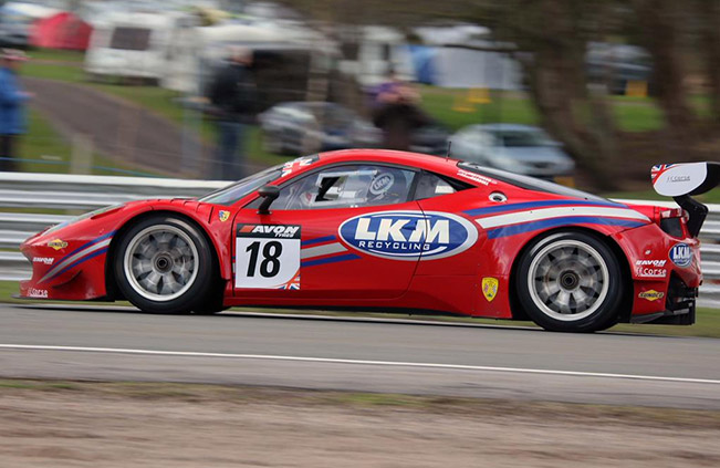 FF Corse Ferrari 458 Italia 2015 Side British GT – Victorious start to season for FF Corse Ferrari
