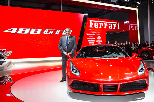 Ferrari 488 GTB makes its Asia-Pacific Debut in Shanghai