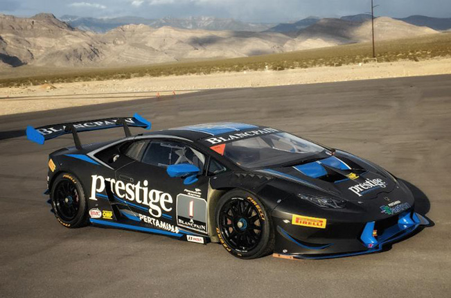 North American Teams Begin Preparation at Spring Mountain for Lamborghini Blancpain Super Trofeo Opener