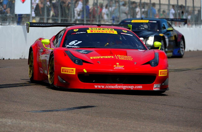 Pirelli World Challenge Five Ferraris at the iconic Long Beach Circuit Pirelli World Challenge – Five Ferraris at the iconic Long Beach Circuit
