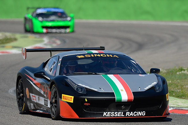 Ferrari Challenge Europe – Testing ends in Monza