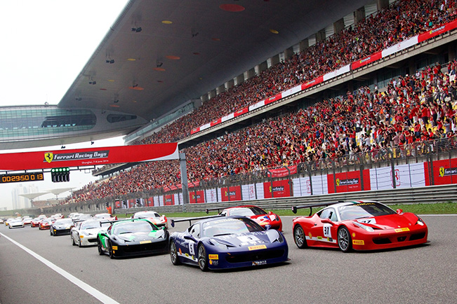 Ferrari Racing Days – The Spectacle is About to Commence in Shanghai