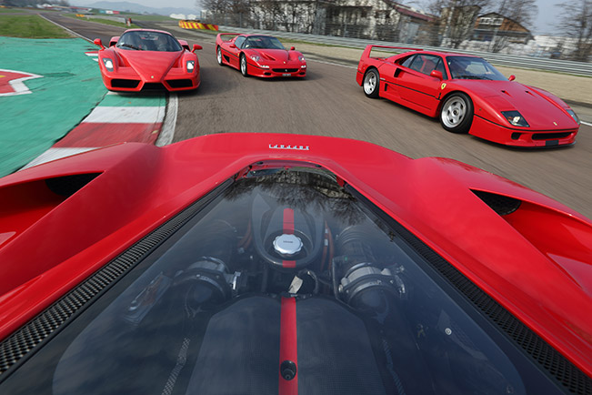 Four thoroughbreds for a special driver Front Angle Dynamics