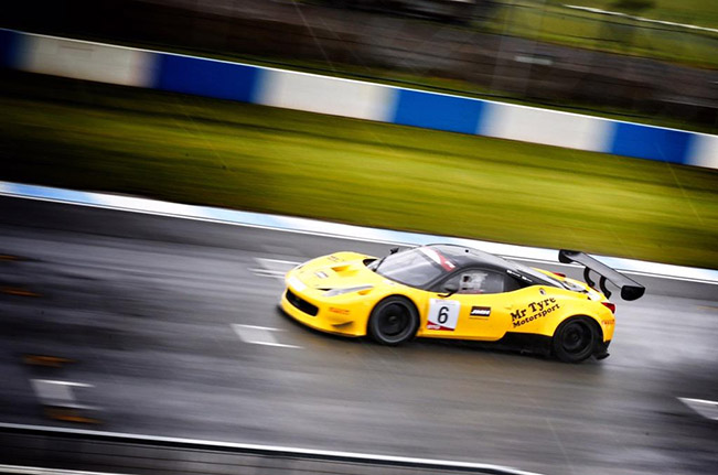 GT Cup Championship – Three Ferrari Victories in Three Races at Brands Hatch