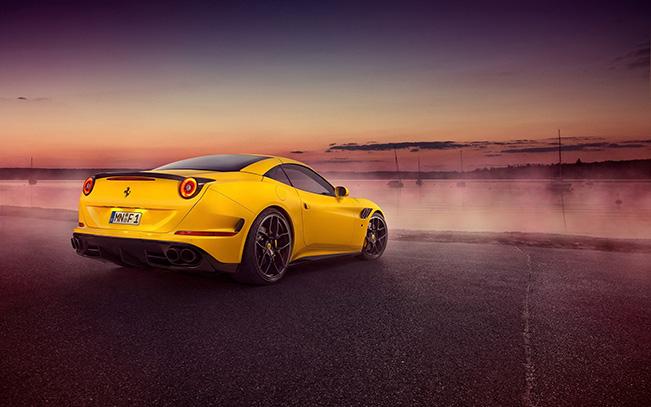 2015 Novitec Rosso Ferrari California T Rear Angle