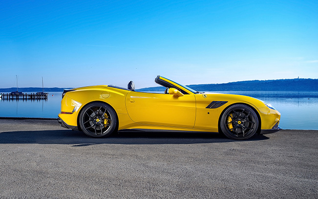 2015 Novitec Rosso Ferrari California T Side
