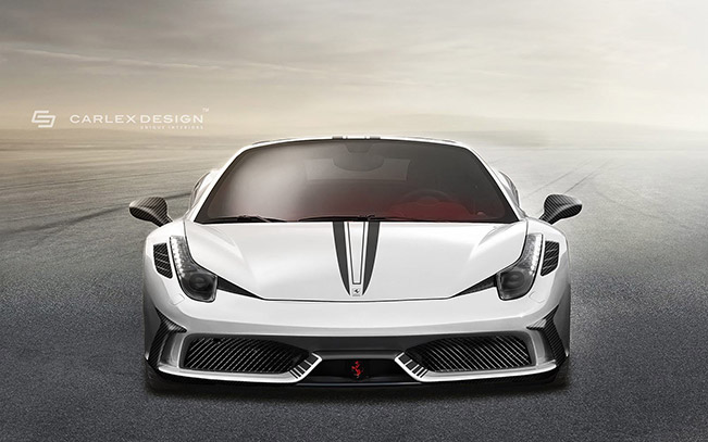 Ferrari 458 Spider Concept by Carlex Design Studio