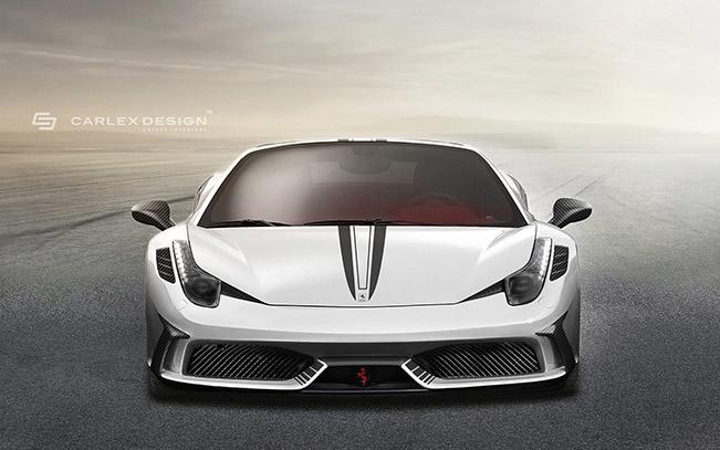 Ferrari 458 Spider Concept by Carlex Design Studio