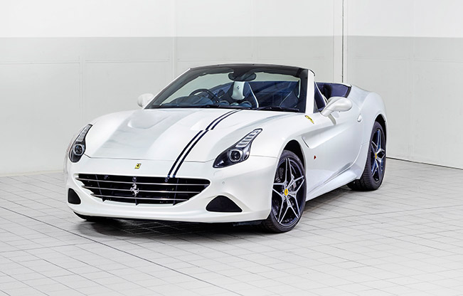 Tailor Made Ferrari California T Showcases New Lightweight Mycro Prestige Fabric
