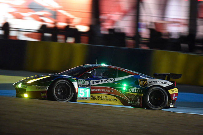 Ferraris unlucky in first qualification session
