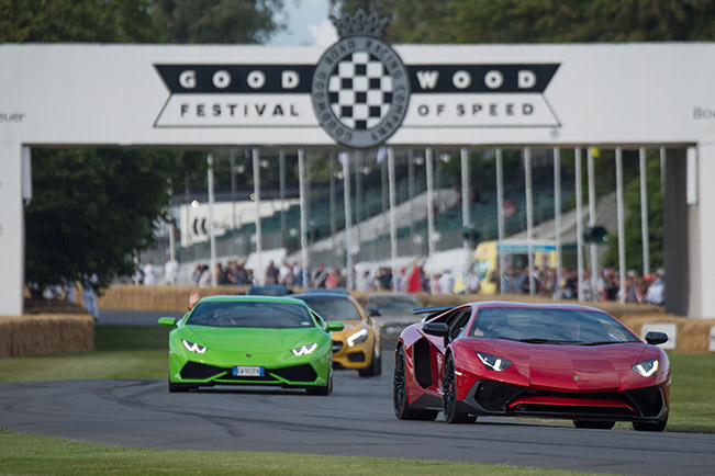 Goodwood Festival of Speed - Lamborghini Confirms Roadster Version of Aventador Superveloce