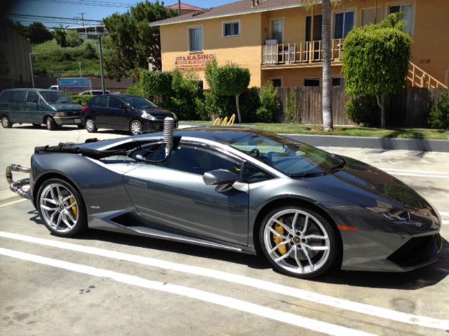 Lamborghini Huracan - Fuel Testing