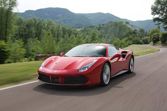 488 GTB blisteringly fast on the track, exhilarating on the road