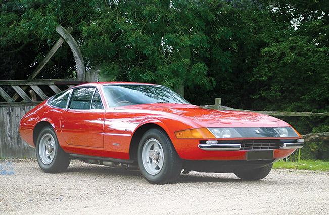 Superb Ferrari Daytona Sold for Record Price