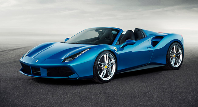 Ferrari 488 Spider - Performance and Effortless Driving for Maximum Drop-Top Fun