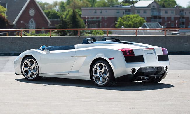 2005 Lamborghini Concept S Rear Angle