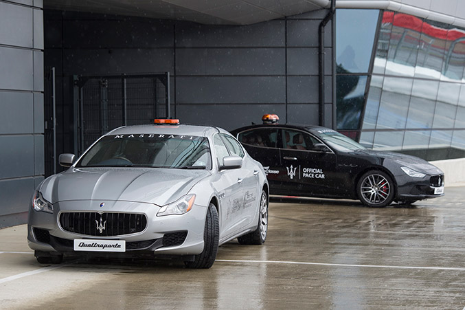 Maserati Pace Cars Lead the Way at the 25th Silverstone Classic
