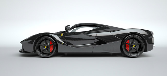 2015 Vitesse Ferrari LaFerrari Side