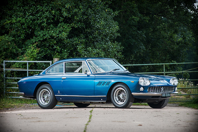 Silverstone Auctions Salon Prive Ferrari 330 GT