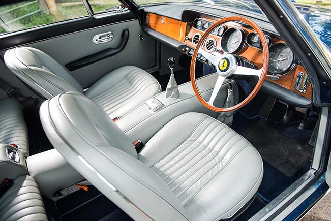 1964 Ferrari 330 GT Series 1 Interior