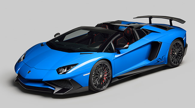 Lamborghini Aventador LP750-4 Superveloce Roadster Makes Global Debut in California-USA