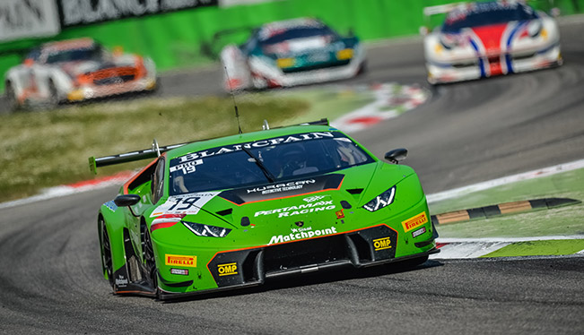 Victory Returned to the Lamborghini Huracan GT3 in Three Hours of Monza, Blancpain Endurance Series 2015