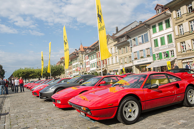 223 Ferraris Meet in Switzerland