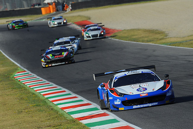 Baldini and Ombra-an Extra Ferrari on Track at Misano