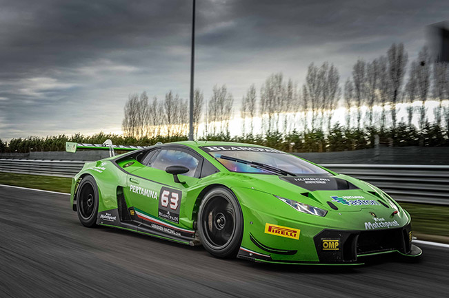 Lamborghini Huracan GT3 to Make North American GT3 Racing Debut in 2016