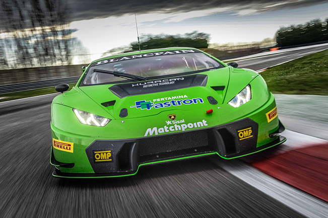 lamborghini huracan gt3 to make north american gt3 racing debut in 2016. Black Bedroom Furniture Sets. Home Design Ideas