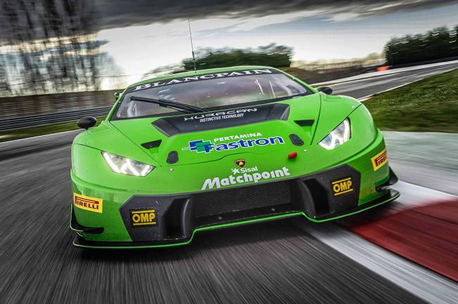 2016 Lamborghini Huracan GT3 Front