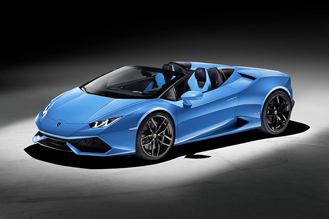 Lamborghini Huracan LP 610-4 Spyder - Performance and Lifestyle Under the Open Sky