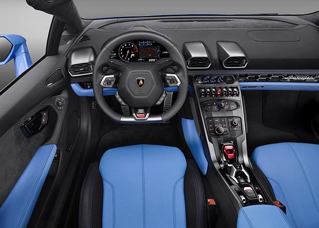 2017 Lamborghini Huracan LP610-4 Spyder Interior