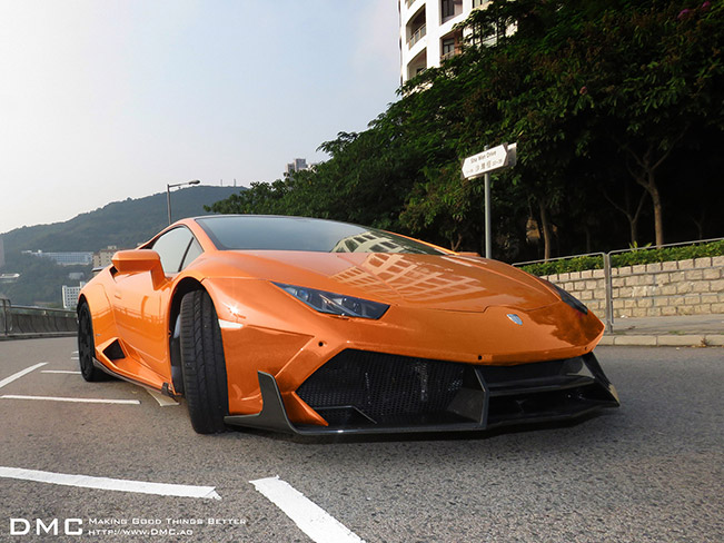 2015 Lamborghini Huracan Limited Edition LP1088 E-GT Front Angle