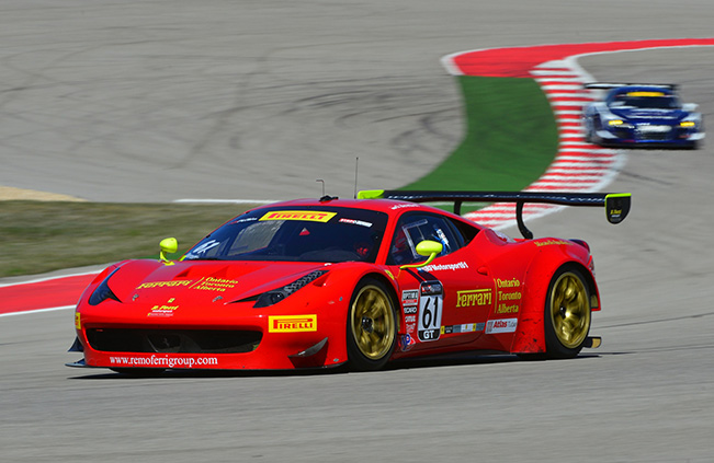 Pirelli World Challenge - Beretta and R. Ferri Ferrari fight for title at Laguna Seca