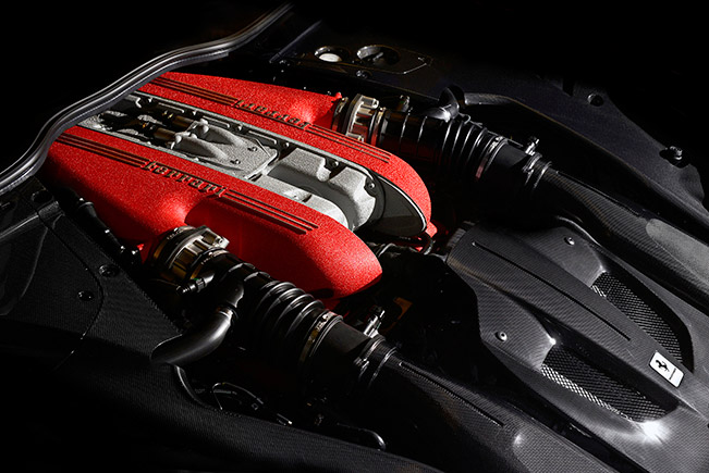 2016 Ferrari F12tdf Engine
