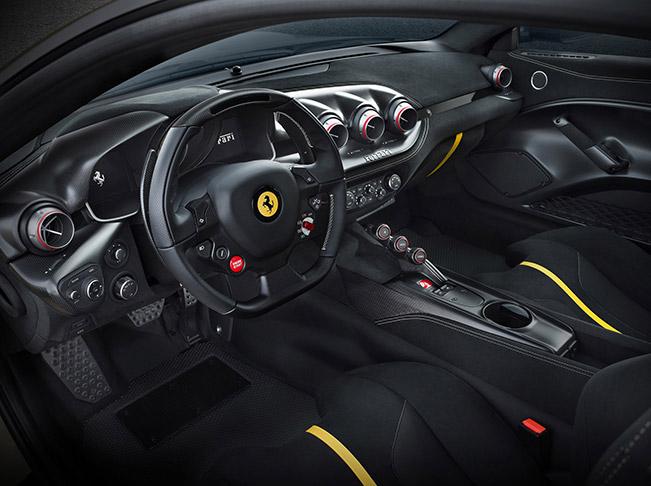 2016 Ferrari F12tdf Interior