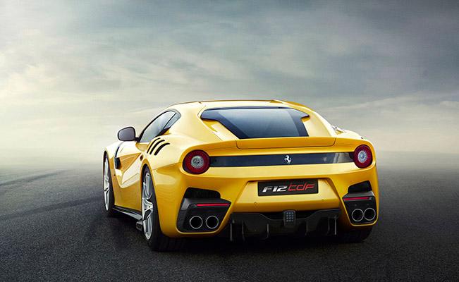 2016 Ferrari F12tdf Rear Angle