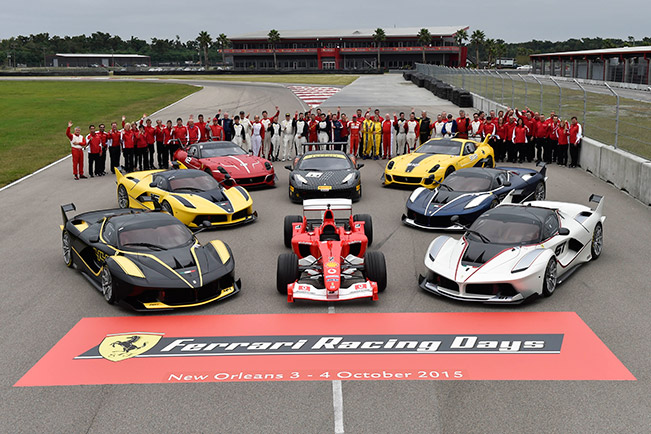 Ferrari Racing Days – Big Bands and Big Smiles in New Orleans