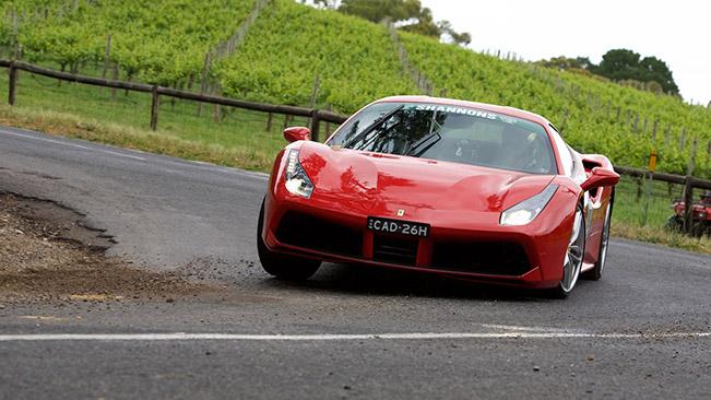 Ferrari stars at 2015 Adelaide Motorsport Festival