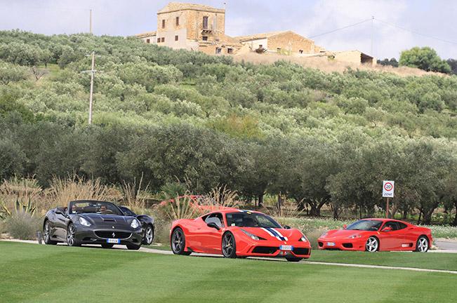 Final Preparations Underway for Ferrari Tribute