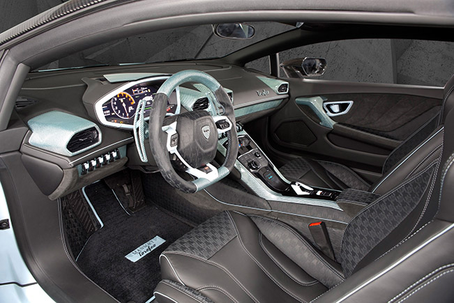 2015 Mansory Lamborghini Huracan Torofeo Interior