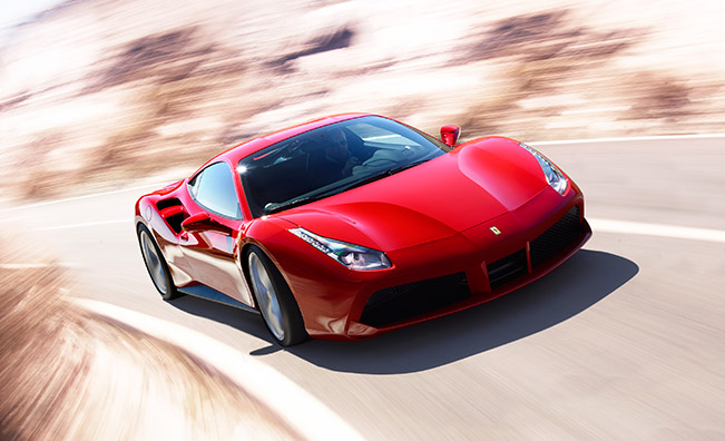 Ferrari 488 GTB Honoured with MECOTY Award for Best Supercar 2015
