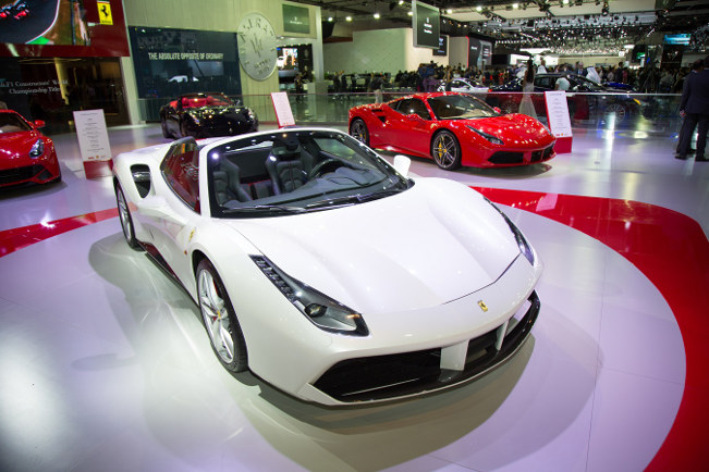 Ferrari Launches Ferrari 488 Spider in the Middle East at Dubai International Motor Show