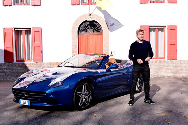 Gordon Ramsay - Ferrari and Haute Cuisine