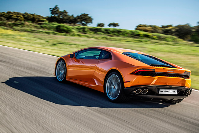 Lamborghini Huracan LP 610-4 - Model Year 2016 Product Updates rear angle