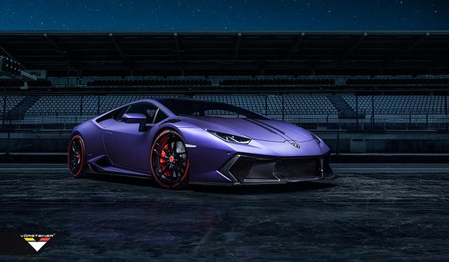 2015 Vorsteiner Novara Lamborghini Huracan Front Angle