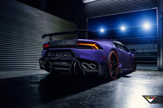 2015 Vorsteiner Novara Lamborghini Huracan Rear Angle