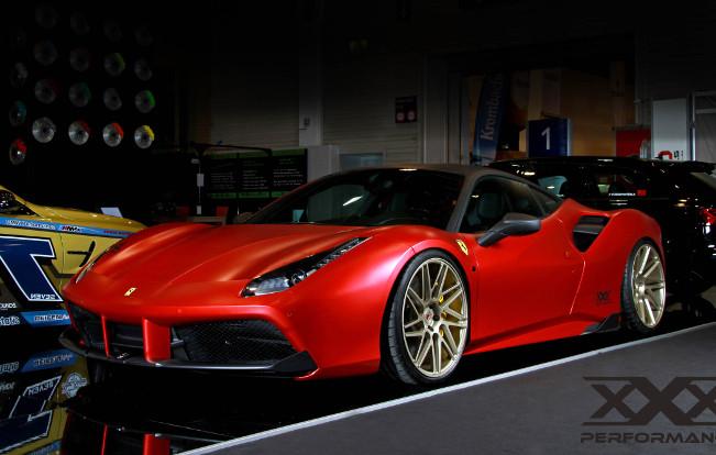 Ferrari 488 GTB Project Car with 850 hp by xXx Performance